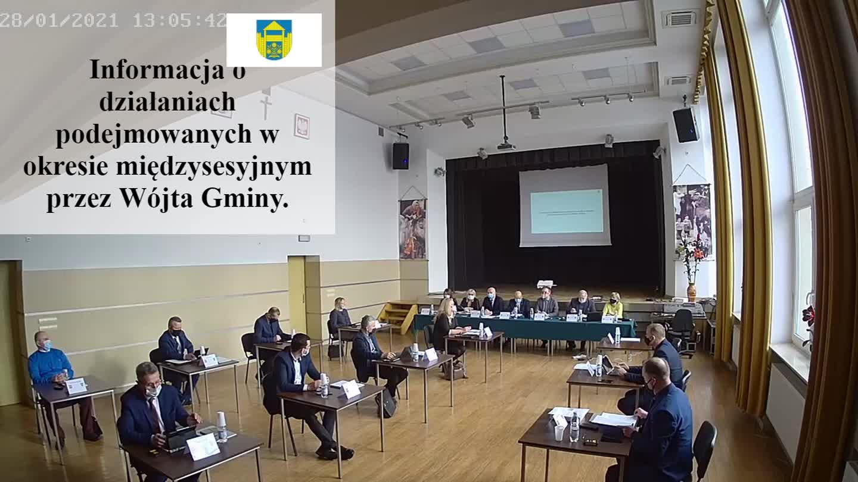 XXVI sesja Rady Gminy Podegrodzie