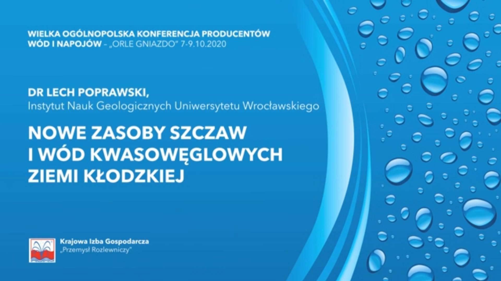 Dr Lech Poprawski - Nowe zasoby szczaw ziemi kłodzkiej